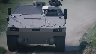 PMMC G5 Protected Mission Module Carrier light tracked vehicle FFG Germany German defense industry