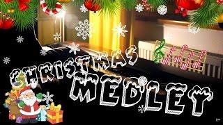Christmas Medley for Advanced Piano Solo! [HD] // Kyle Landry