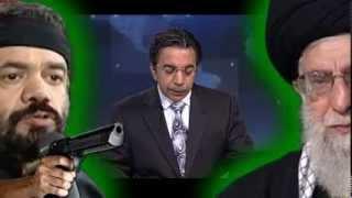 VOA PERSIAN, باند على خامنه اى « مداح محمود کريمى »؛