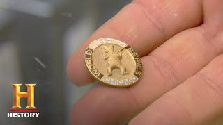 Pawn Stars: 1929 World Series Press Pin (Season 5) | History