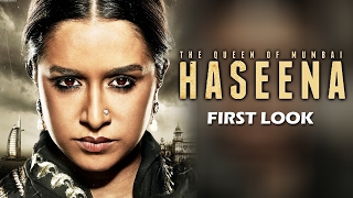 HASEENA - The Queen Of Mumbai FIRST LOOK Ft. Shraddha Kapoor