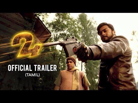 24 Official Trailer - Tamil   Suriya   Samantha    AR Rahman   2D Entertainment   Vikram K Kumar