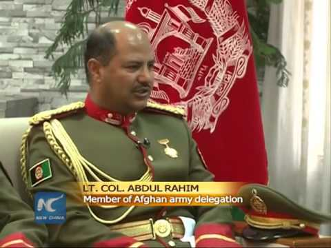 watch Interview: Military parade in China is an honor for Afghan army