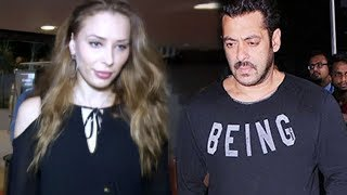 Salman Khan & Iulia Vantur SPOTTED At Mumbai Airport