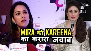 "Kareena kapoor slams Mira Rajput's ""Puppy"" statement"