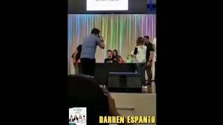 Darren Espanto trending kiss ng isang fan