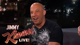 Vin Diesel Says Furious 7 Destroyed A LOT of Cars