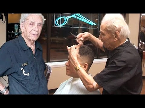 Xxx Mp4 È Napoletano Ha 107 Anni E Lavora Ancora Anthony Mancinelli Il Barbiere Più Anziano Al Mondo 3gp Sex