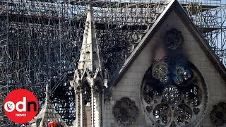 Inside Notre-Dame Cathedral a month on from the fire