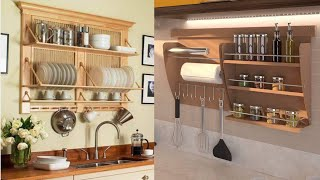 Amazing Kitchen Shelves Design and Ideas