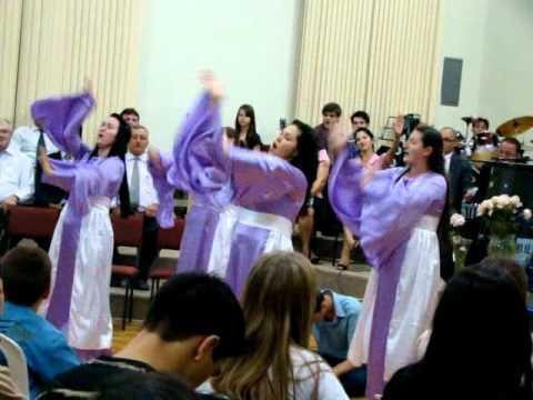 Dois Ungidos Grupo De Coreografia Assembléia de Deus São Miguel Do Este