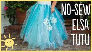 DIY | How to Make a No-Sew Tutu (Easy Halloween Costume!!)