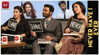 Kajol , Dhanush & Director Soundarya Rajnikanth Goes CANDID & Carefree | Never Have I Ever | VIP 2