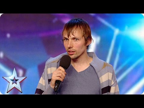 Gatis Kandis is back to make Simon laugh… again! | Britain's Got More Talent 2016
