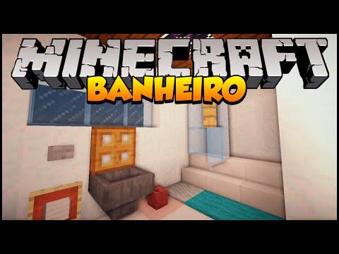 Minecraft Decoração #2: Mobílias de Banheiro (Privadas, banheiras, etc...)