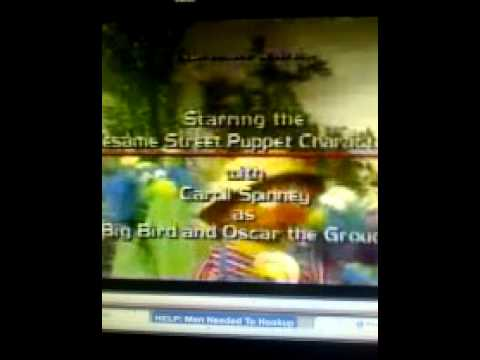 Closing To Sesame Songs Sing Yourself Silly 1990 VHS