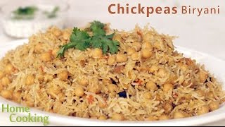 Chickpeas Biryani | Ventuno Home Cooking