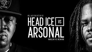 KOTD - Rap Battle - Head I.C.E. vs Arsonal | #BO6ix