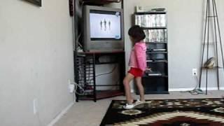 Losanna dancing to