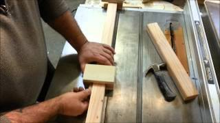 Simple! Homemade (Wood) Bar Clamps! No Hardware Needed!
