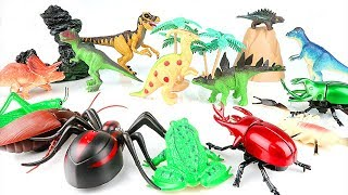 Dinosaurs In Danger! Need a Brave Hero to Save Dinosaurs from Villain. Sharp Teeth T-Rex Toys~