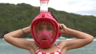 Full-face snorkel masks raise safety concerns