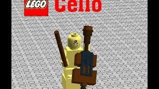 How to build a LEGO Cello