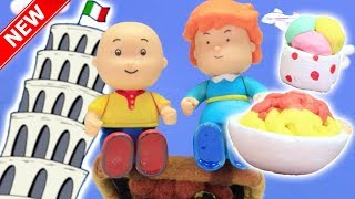 ★NEW★ Caillou Goes ON HOLIDAY | Funny Animated cartoons Kids | Caillou Stop Motion | Cartoon movie