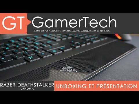 Razer Deathstalker Chroma - Unboxing et Test [FR]
