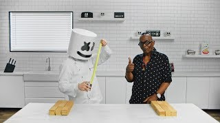 Building The Electric Puff Carnival Main Stage with Randy Jackson   Cooking with Marshmello