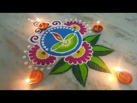 Xxx Mp4 Diwali Special Rangoli Chita Mandanaspecial Rangoli With Colours Muruja Jhoti 3gp Sex