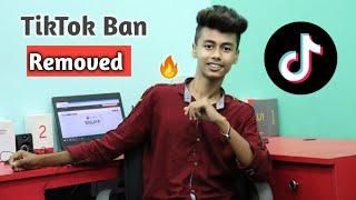 Tiktok Ban Removed 😃