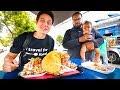 San Diego Food Tour - MASSIVE BURGERS and CRAZY TOSTADAS in California, USA!
