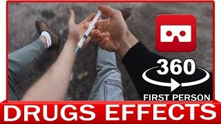 360° VR VIDEO - DRUGS EFFECT - Experience in First Person View - POV - T2 TRAINSPOTTING