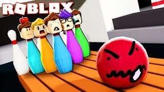 Roblox Adventures - ESCAPE THE BOWLING BALL! (Escape the Bowling Alley Obby)