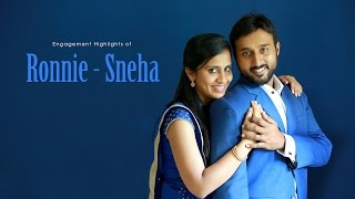 Kerala Christian Engagement Highlights of Ronnie - Sneha by R media fotos