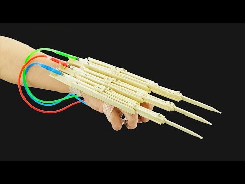 Xxx Mp4 How To Make X Men Wolverine Automatic Claws From Popsicle Sticks 3gp Sex