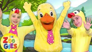 Six Little Ducks | New Nursery Rhymes & Kids Songs by Zouzounia TV