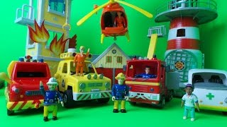 Top 5 Firefighter Fireman Sam Emergency Vehicles with Jupiter and Venus Fire Engines