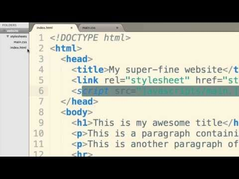 The absolute basics of HTML, CSS and JavaScript