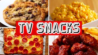 6 Snacks For Binge-Watching TV