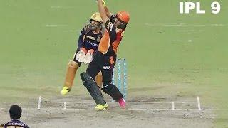 SRH vs KKR, Eliminator | IPL 2016: Sunrisers Hyderabad won by 22 runs