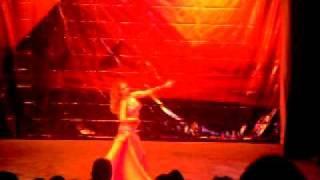 KAHINA ZAHIR BELLYDANCER homenaje a YOUSRY SHARIF MEXICO DF 2010