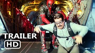 "DEADPOOL 2 ""Invisible Guy & Peter Skydiving"" Clip (NEW 2018) Superhero Movie HD"