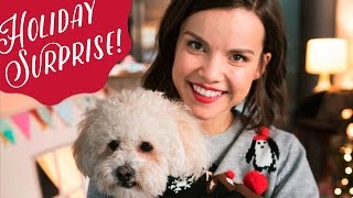 Surprising My BFF (and her dog!) for the Holidays! ◈ Ingrid Nilsen