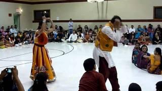 Best Navratri Dandiya Garba Couple Performance 2010 - HD