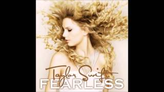 Taylor Swift Forever And Always Audio