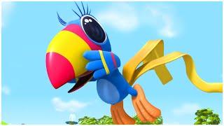 رسوم متحركة للاطفال | الدنيا روزي | الموسيقى واللباس | مجموعة | قناة براعم | Spacetoon