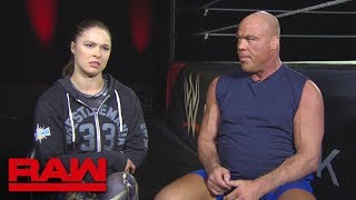 Ronda Rousey trains for her WrestleMania debut: Raw, March 19, 2018