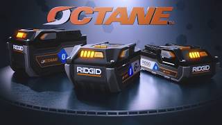 RIDGID OCTANE™ Battery Technology